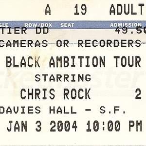 Chris Rock tour tickets