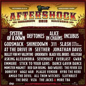 Aftershock Festival tour tickets