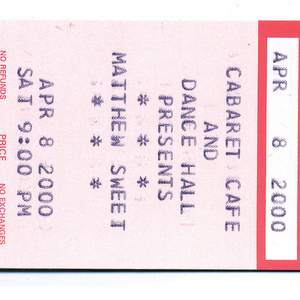 Matthew Sweet tour tickets