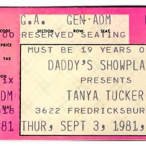 Tanya Tucker tour tickets